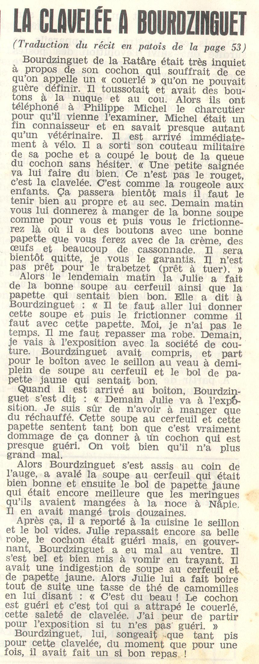 La clliavalare a Bourdzinguet Messager%20Boiteux-francais-1966